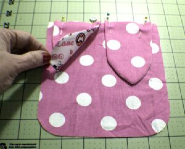 Attach-the-Ears-300x241 How to Sew a Drawstring Easter Bunny Bag