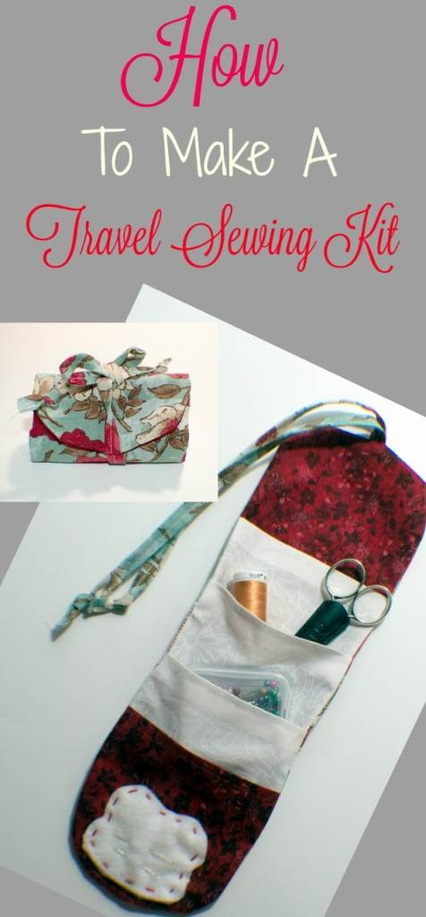 How to make a travel sewing kit