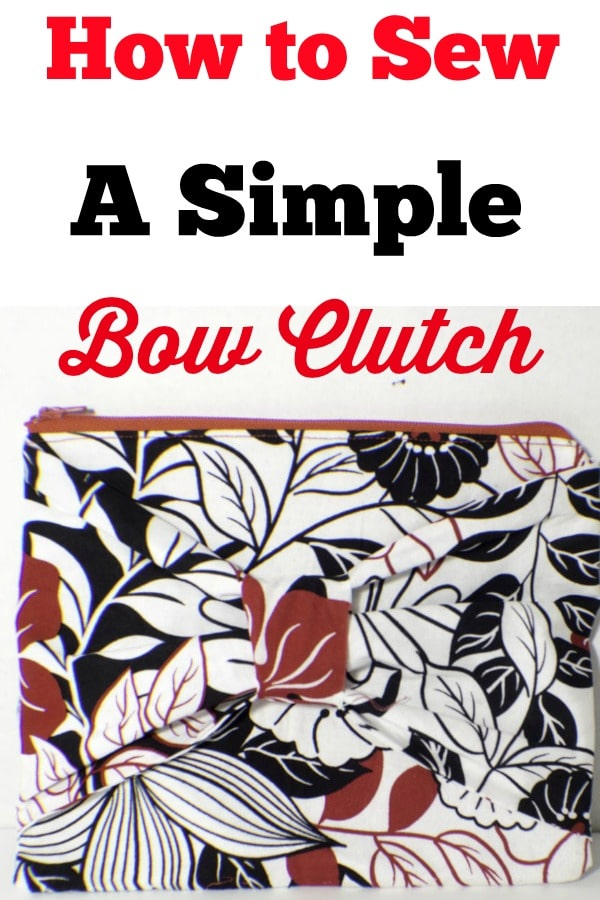 bow-clutch How to Sew a Bow Clutch