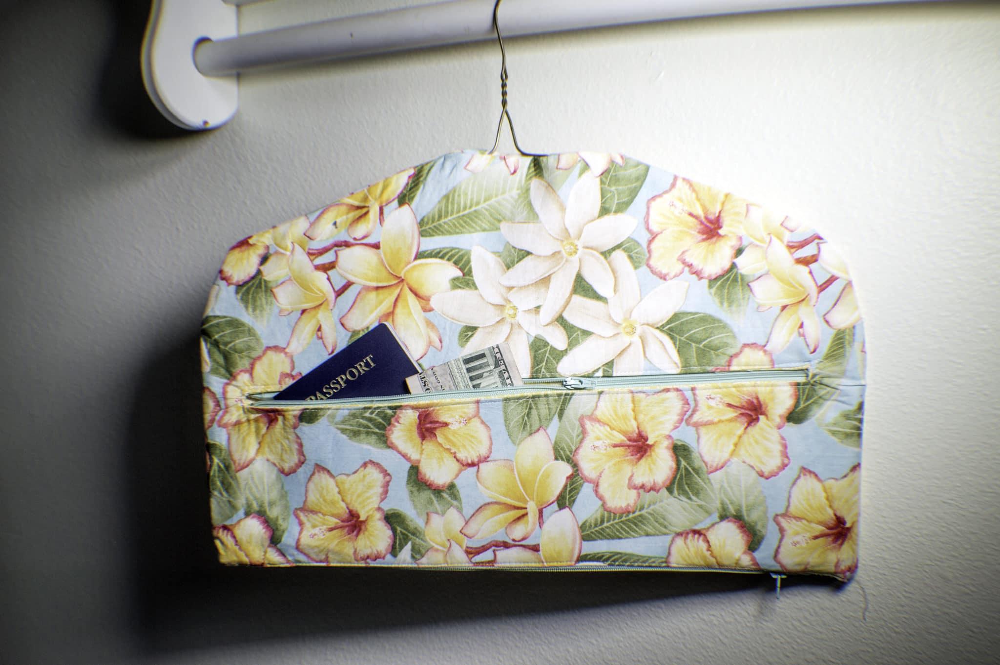 Sewing tutorial: Fabric closet safe