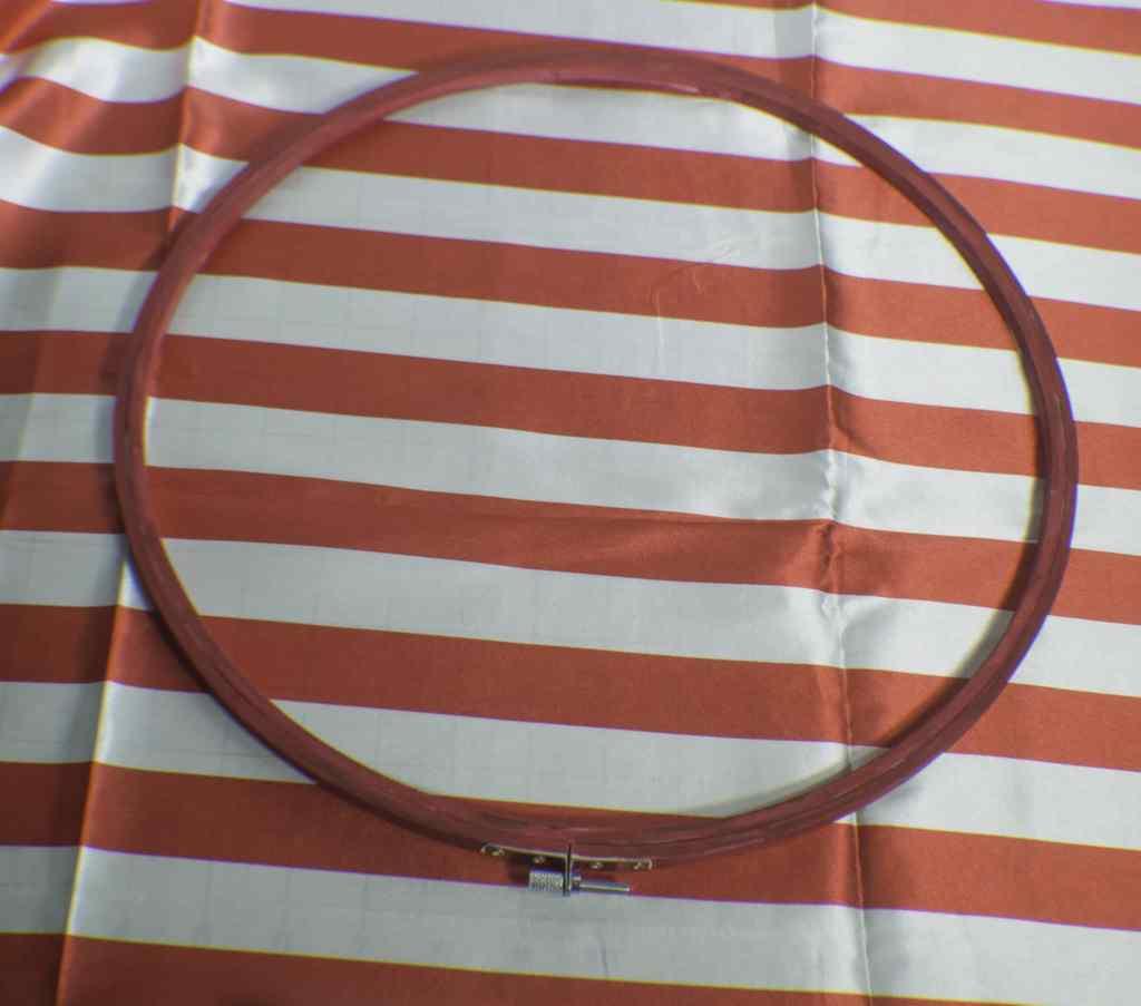 Hoop-your-fabric-1024x903 Patriotic Embroidery Hoop Art