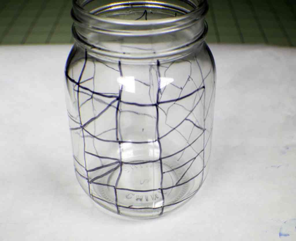 Create-the-Faux-Lead-Lines-1024x832 How to Make Sharpie Stained Glass