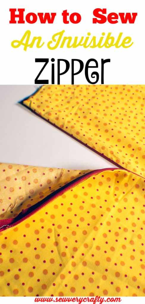 Learn to Sew: How to sew and Invisible zipper