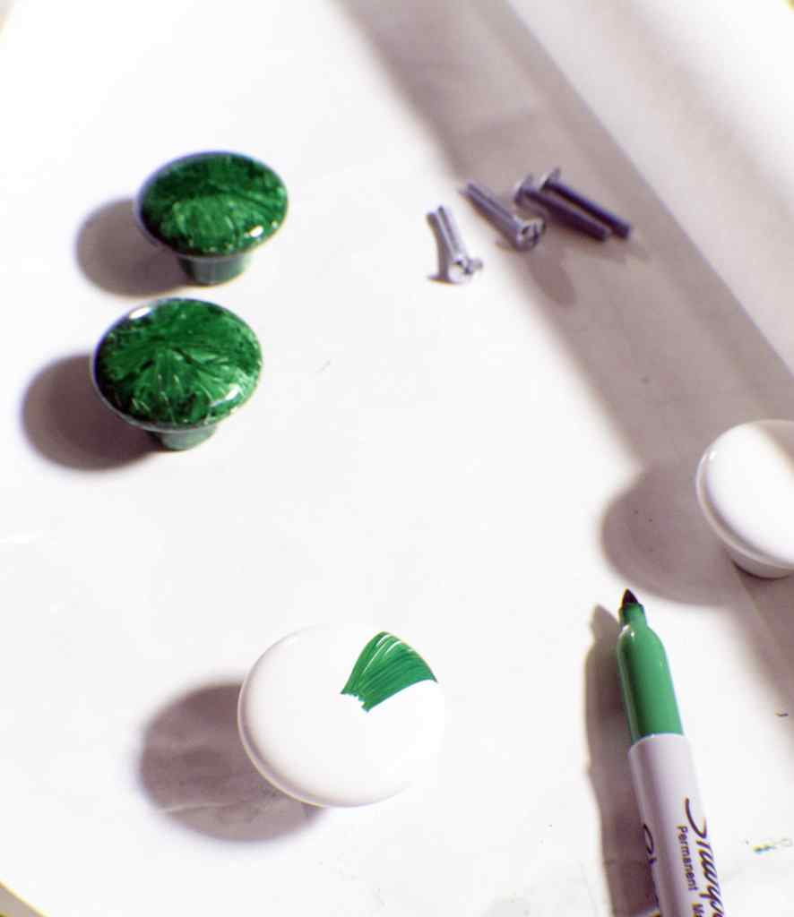 How to make sharpie knobs in 3 easy steps