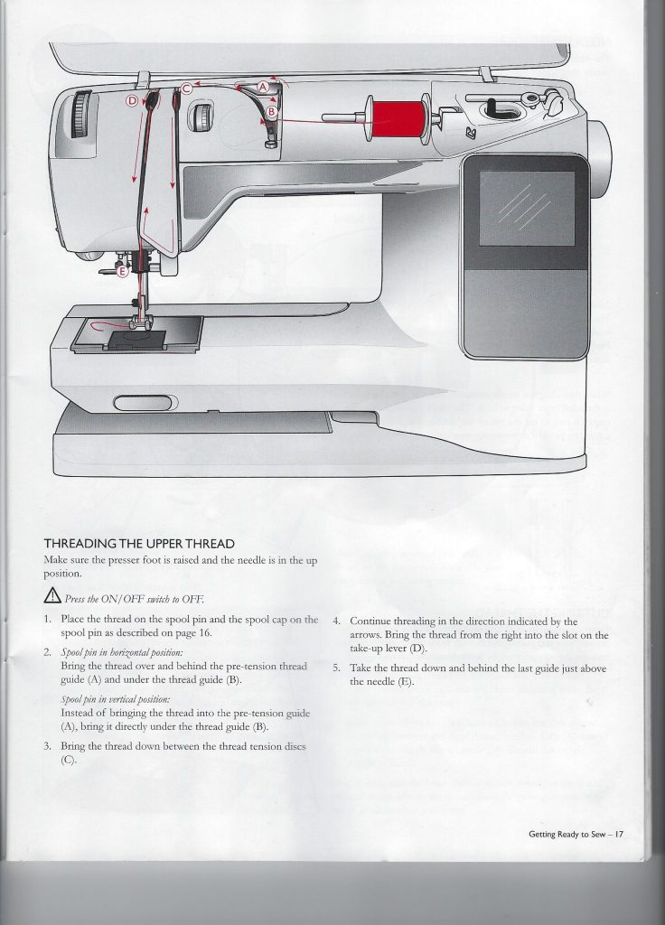 Thread-Machine-736x1024 Learn to Sew: How to Easily Thread your Sewing Machine