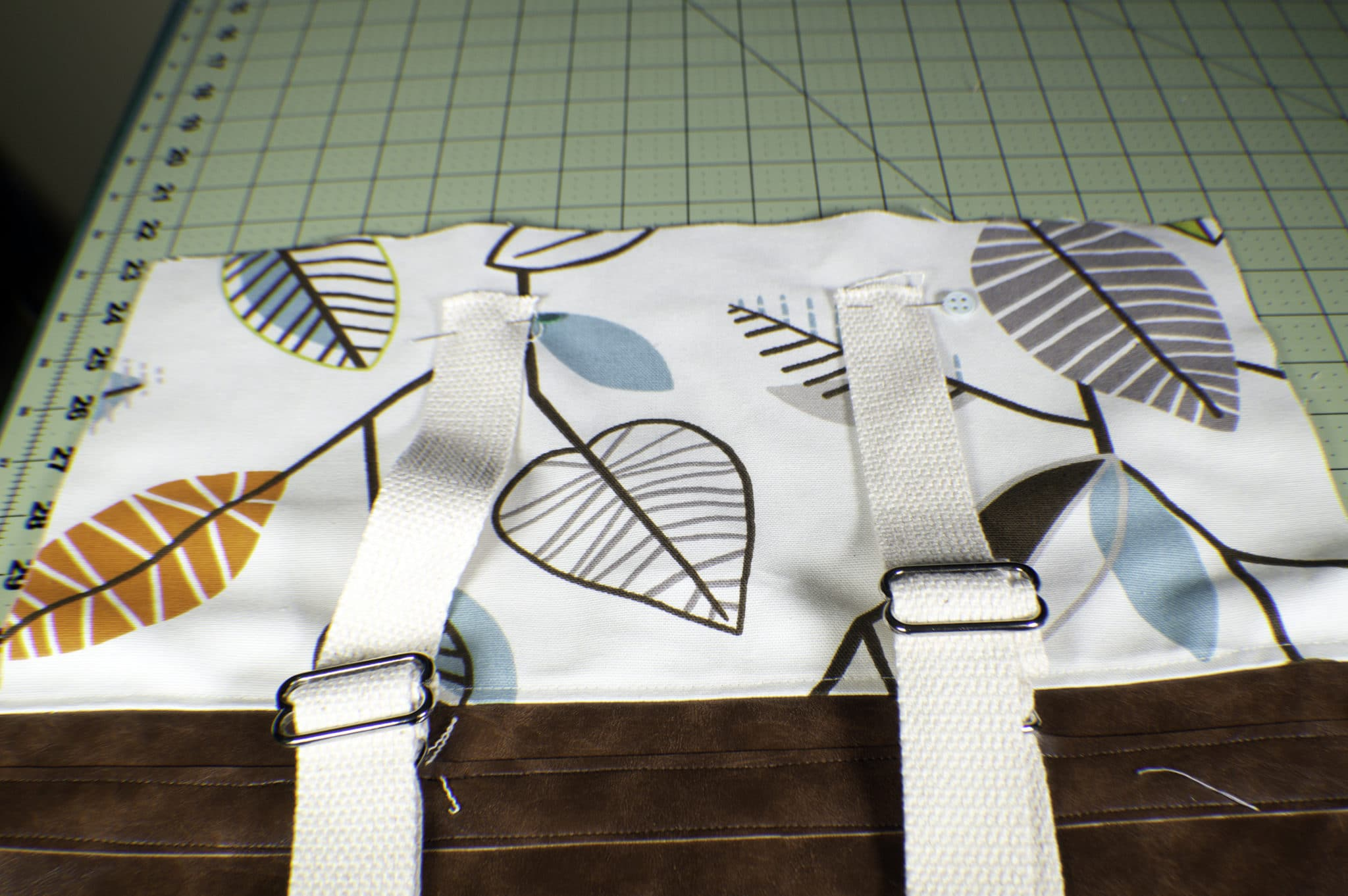 How to Sew a DIY Backpack Purse - Sew Very Crafty