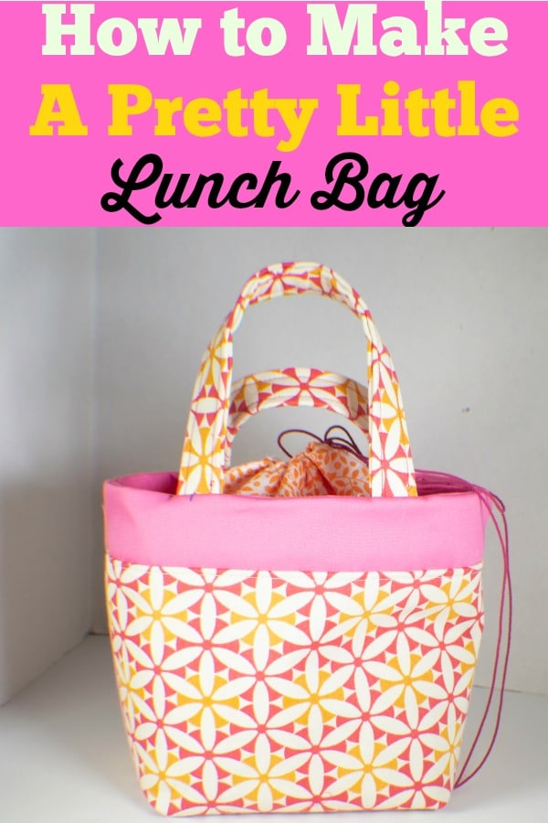 Lunch-bag How to Make a Pretty Little Lunch Bag