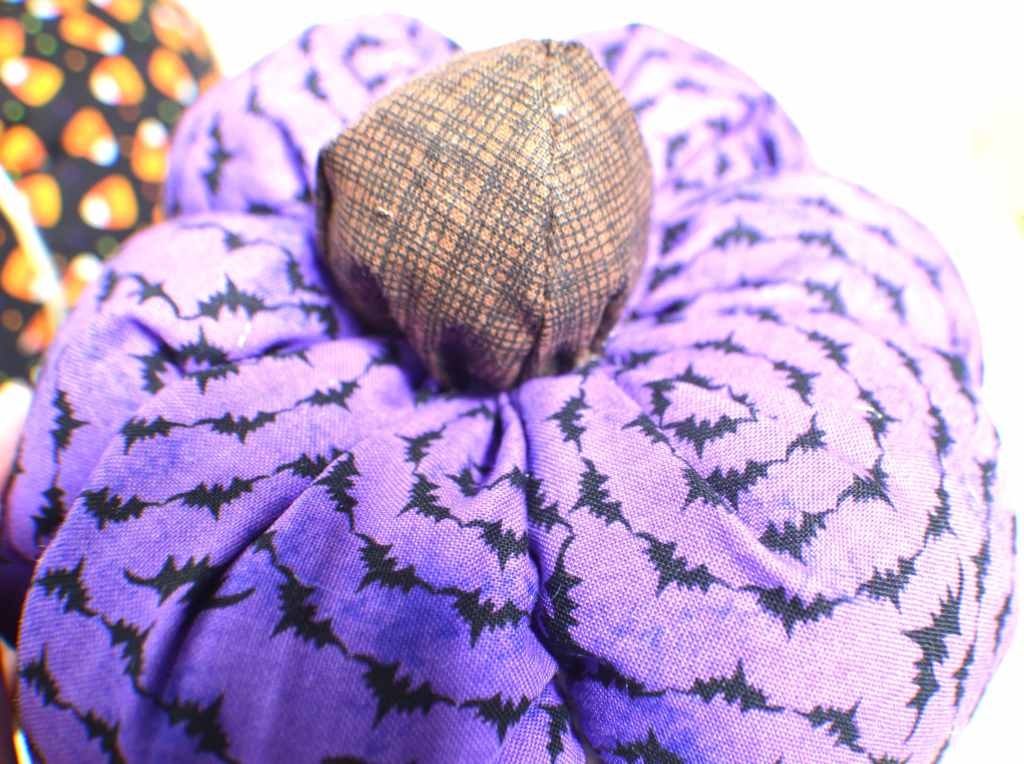 Sew-on-the-stem-1024x764 How to Make Fabric Pumpkins