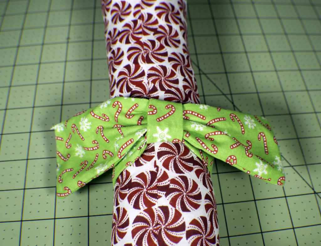 How to make a stuffed fabric candy cane