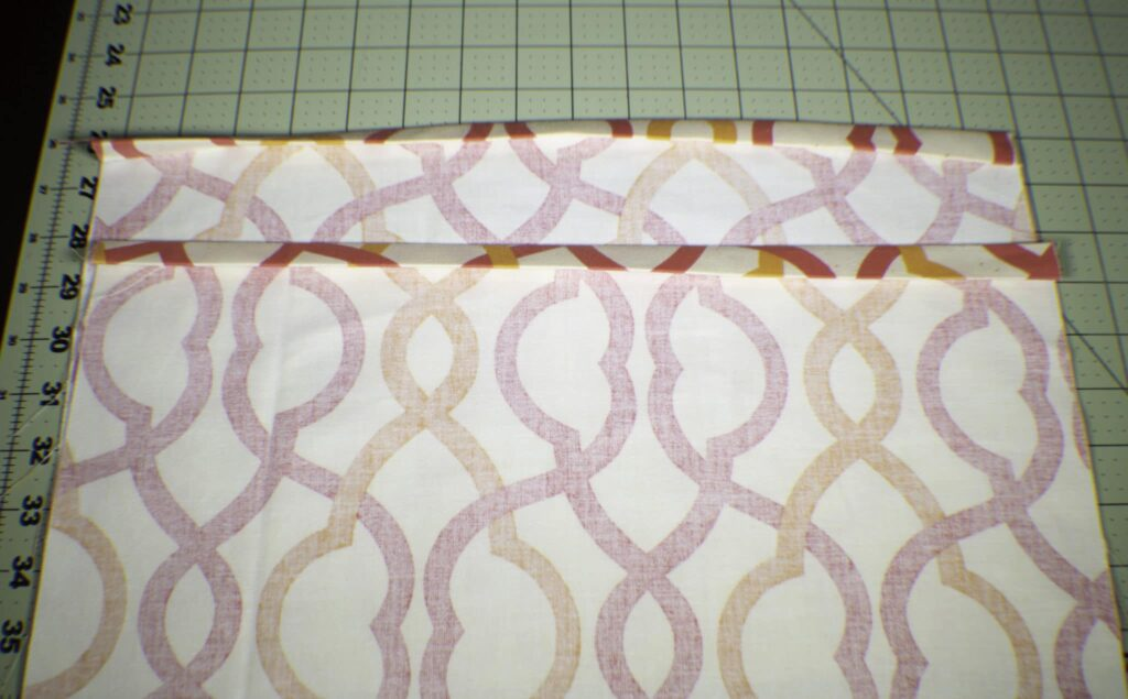 Fold-over-the-edges-1024x635 How to Make an Envelope Pillow