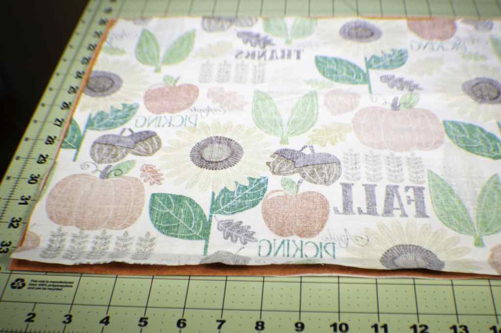 How to make reversible applique place mats