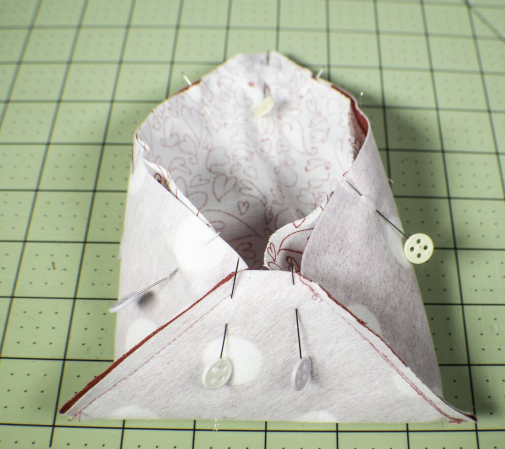 How to make fabric envelopes