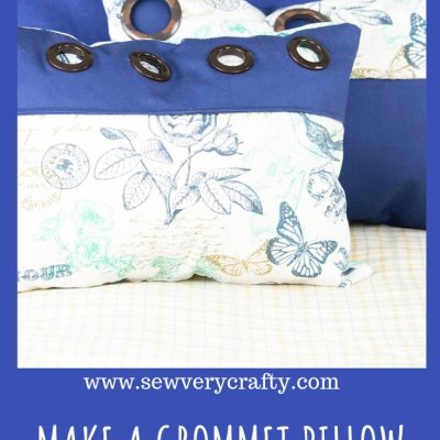 How to Make a Grommet Pillow