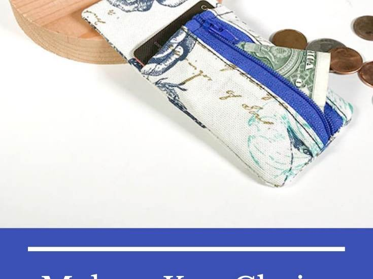 Make a Key Chain Wallet