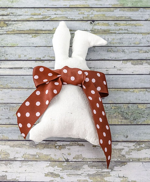 Make a Simple Easter Bunny Softie