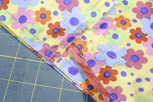 How to make fabric gift bags