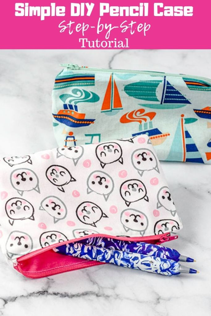 Sew a DIY Pencil Case