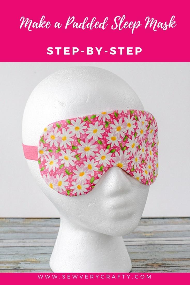 How to make a padded sleep mask