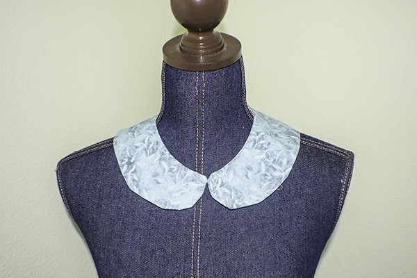 How to make a removable peter pan collar