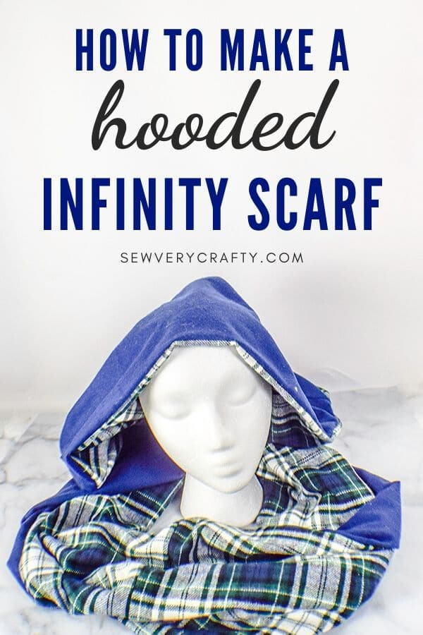 How to Make a Hooded Infinity Scarf