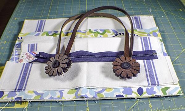 How to Make a Dishcloth handbag