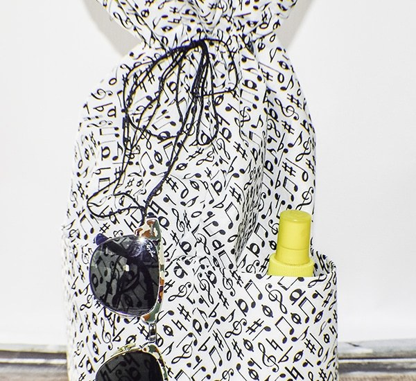 How to Make a drawstring tote