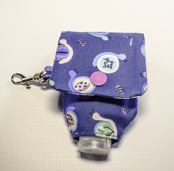 How to Make a Hand Sanitizer holder key chain