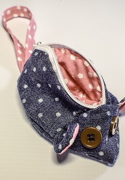 How to make a mouse coin purse