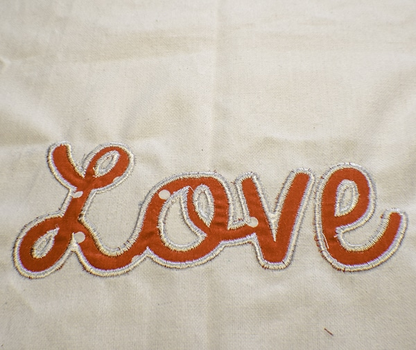 How to Applique Using and Embroidery Machine
