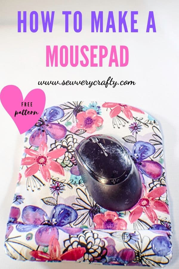 How to make a mousepad with wrist support