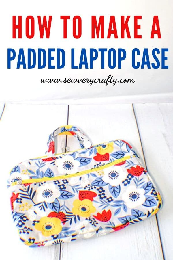 How to Make a Padded computer Case
