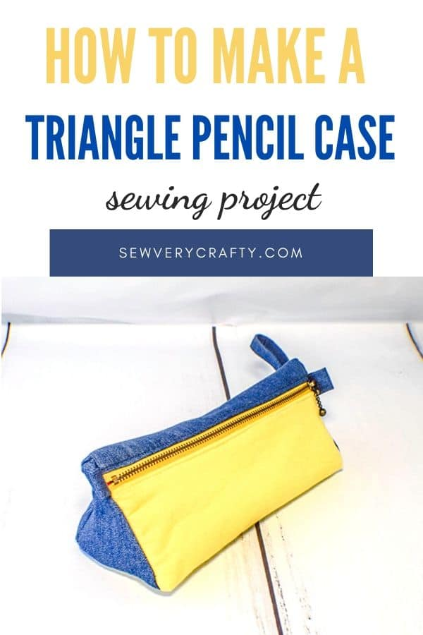 How to Make a Triangle Pencil Case