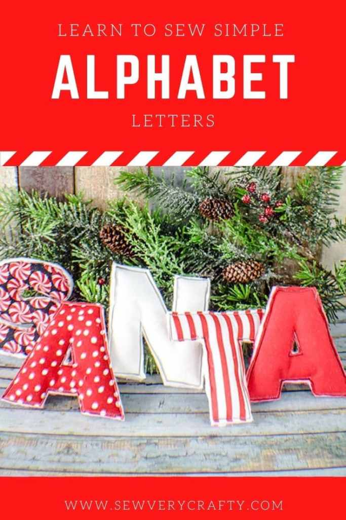 How to Create a Fabric Alphabet