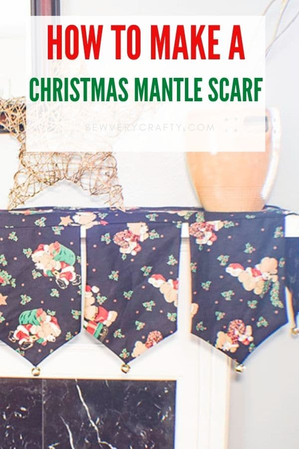 How to make a Christmas Mantle Scarf