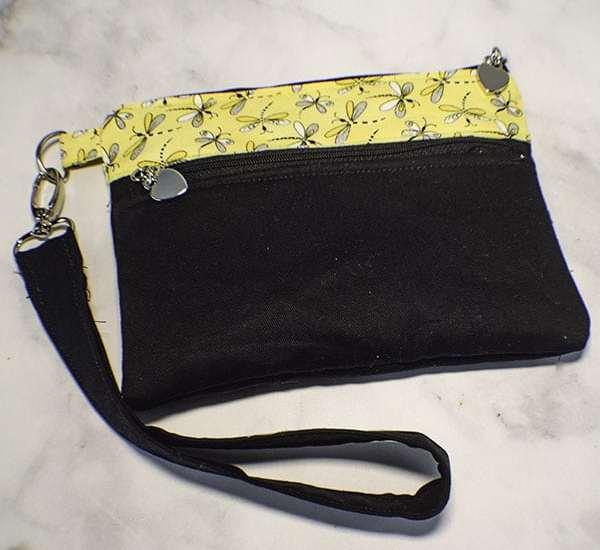 How to Make a Double Zippered Handbag