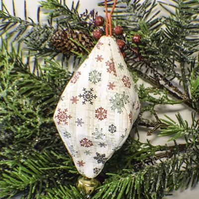 How to Make a Fabric Christmas Ornament