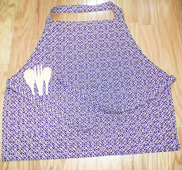 How to Make a Simple Beginner apron