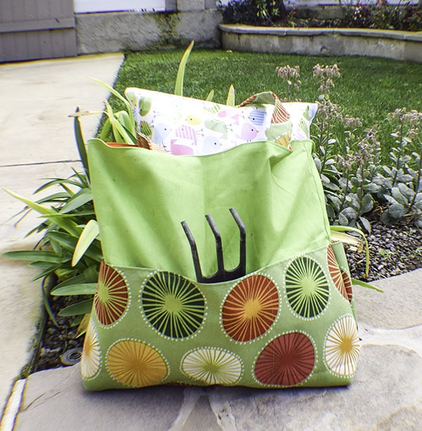 Finished Garden Tote