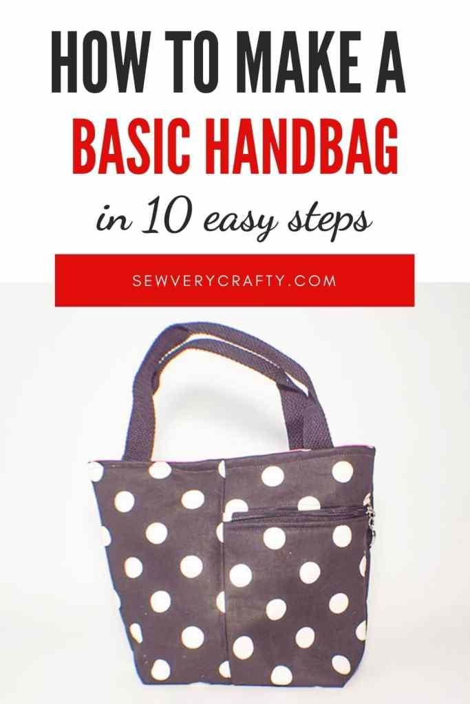 How to Make a Basic Handbag with Cellphone Pocket