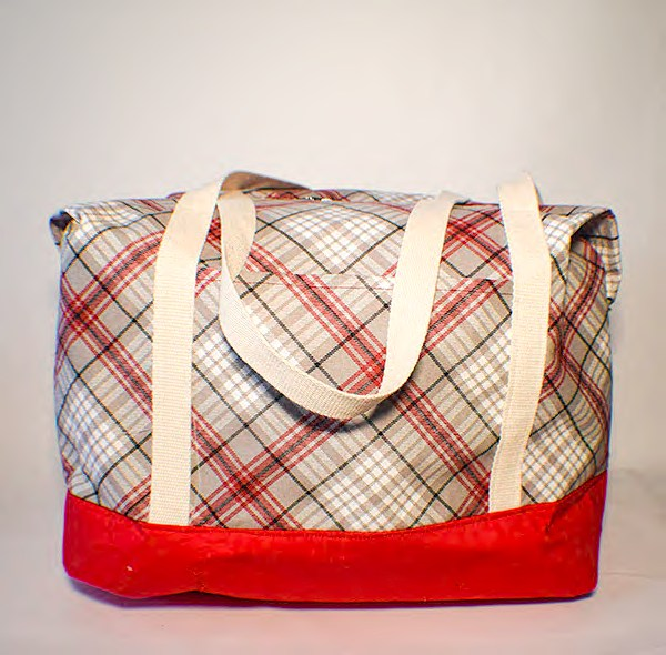 How to make a large travel tote