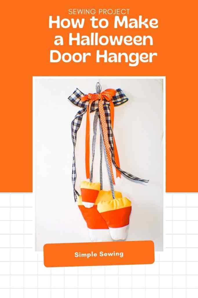 How to Make a Halloween Door Hanger