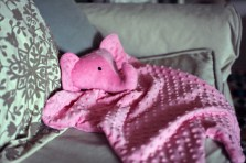 Sew Well - Cotton Ginny's Animal Blanket - Elephant Blanket