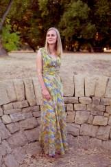 Sew Well - Paint Me a Maxi Dress - Vogue V8182
