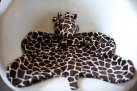 Sew Well - Cotton Ginny's Animal Blanket - Giraffe Blanket