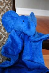 Sew Well - Elephant Baby Blanket
