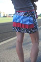 Sew Well + Funkifabrics - Five Funky Running Skirts