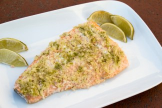 Lime Crusted Salmon | Sew You Think You Can Cook | http://sewyouthinkyoucancook.com