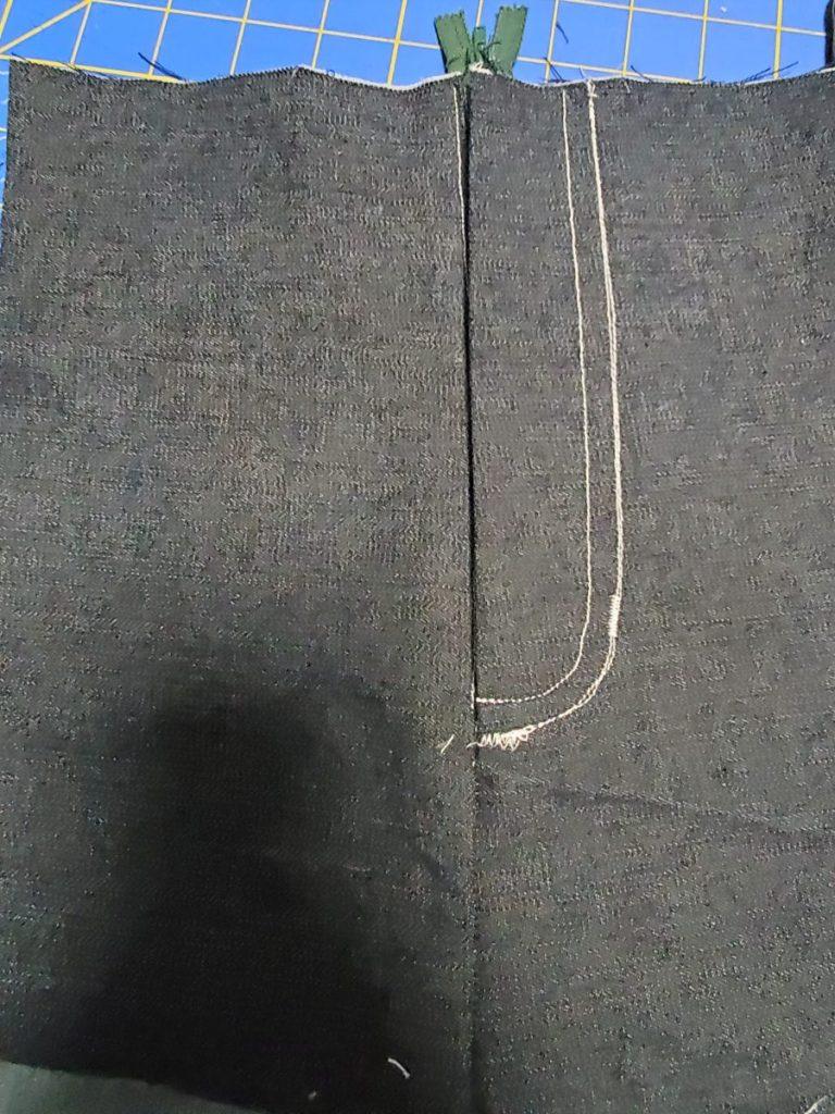 Sample Zipper Fly