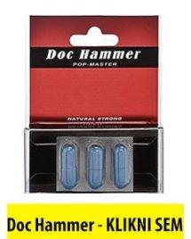 Sex tablete Doc hammer za erekcijo
