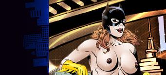 lesbian cartoon catwoman naked